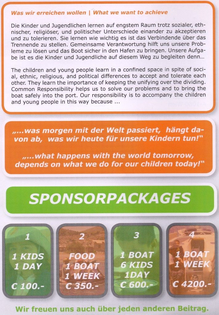 Sponsorpackages