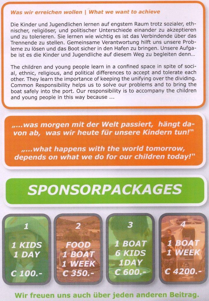 Sponsorpackages
